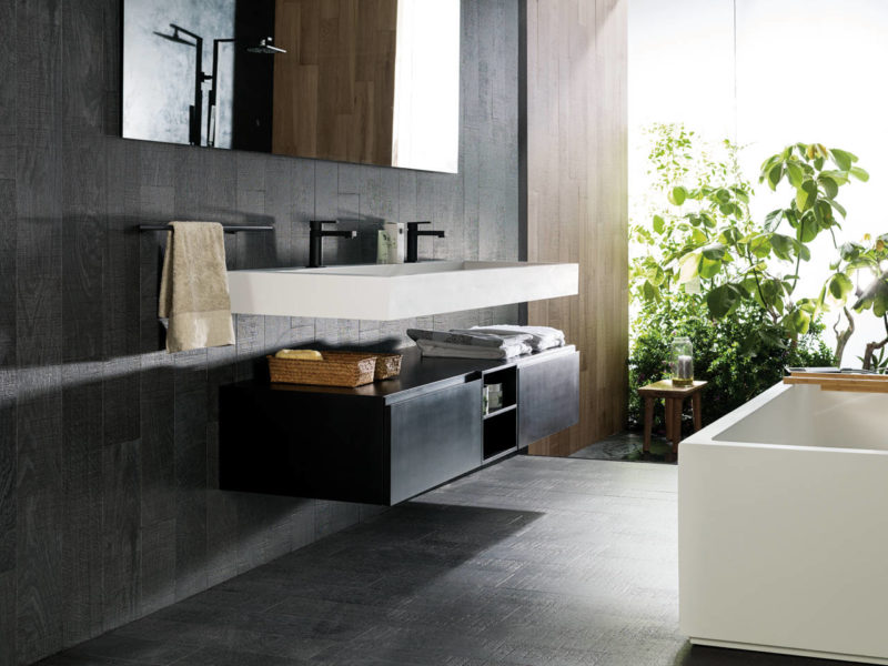 Porcelanosa-lavabo-KRION - 1